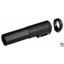 Rallonge de visée Precise longueur 100 mm pour canon de diamètre extérieur de 23,85mm