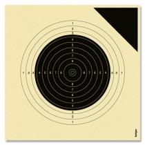 Cible KRÜGER carabine 50m - 20x20cm - Cible d'essai
