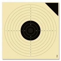 Cible KRÜGER pistolet à air comprimé 10m. Cible d'essai
