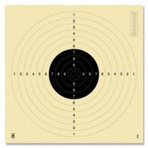 Cible KRÜGER pistolet 25/50m - C50