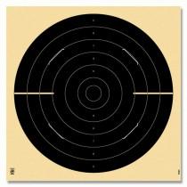 Cible KRÜGER pistolet Vitesse 25m avec fentes