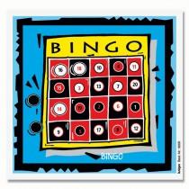 Cible détente en couleur KRÜGER - Ticket Bingo