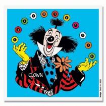 Cible détente en couleur KRÜGER - Clown jongleur