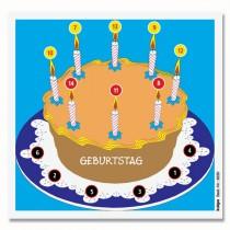 Cible détente en couleur KRÜGER - Gâteau d'anniversaire