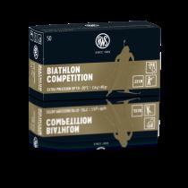 Boîte de 50 cartouches RWS BIATHLON COMPETITION