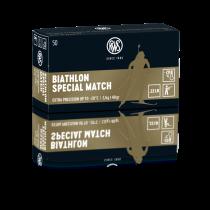 Boîte de 50 cartouches RWS BIATHLON SPECIAL MATCH