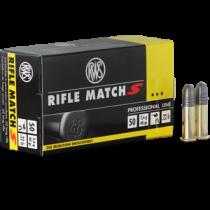 Boite de 50 cartouches RWS Rifle Match S