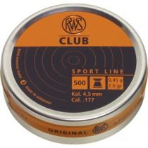 Boîte de 500 plombs RWS modèle CLUB