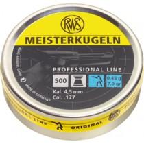 Boîte de 500 plombs RWS modèle MEISTERKUGELN - Pistolet