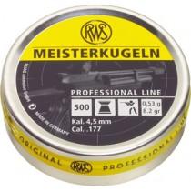 Boîte de 500 plombs RWS modèle MEISTERKUGELN - Carabine