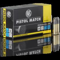 Boite de 50 cartouches RWS Pistol Match