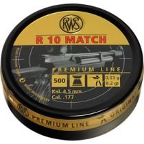 Boîte de 500 plombs RWS modèle R10 MATCH