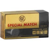 Boîte de 50 cartouches RWS SPECIAL MATCH