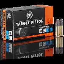 Boîte de 50 cartouches RWS TARGET Pistol